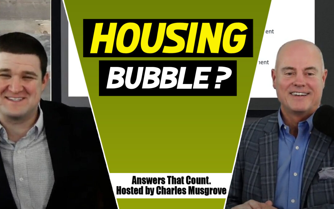 Housing Bubble Prediction 2021 with Myles Bradley